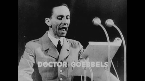 Germany, CIRCA - 1942 - In Nazi Germany, the populous were taught that Hitler was God and children in Japan were to worship Emperor Hirohito.