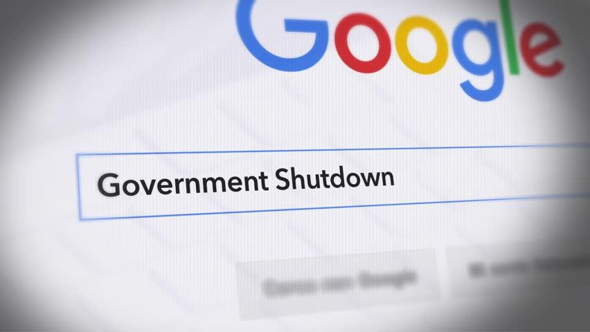 USA-Popular searches in 2018 Google Search Engine - Search For Government Shutdown