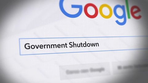 USA-Popular searches in 2018 Google Search Engine - Search For Government Shutdown