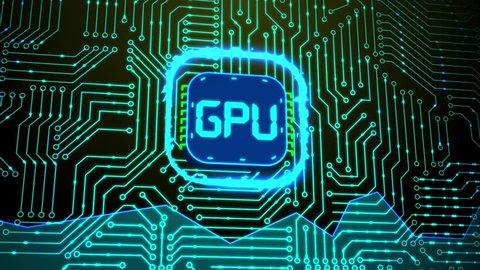 Microchip GPU Processor Turning On