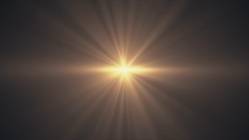 yellow sun star rays lights optical lens flares shiny animation art background - new quality natural lighting lamp rays effect dynamic colorful bright video footage