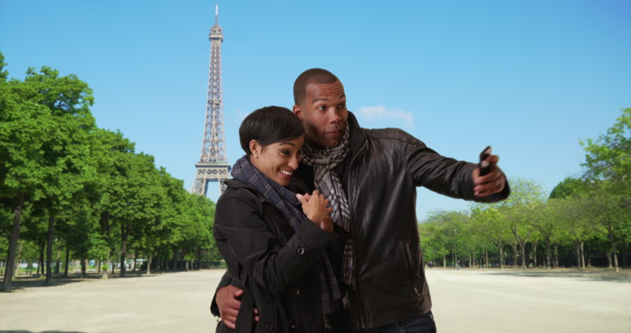 Image result for African American tourists in France