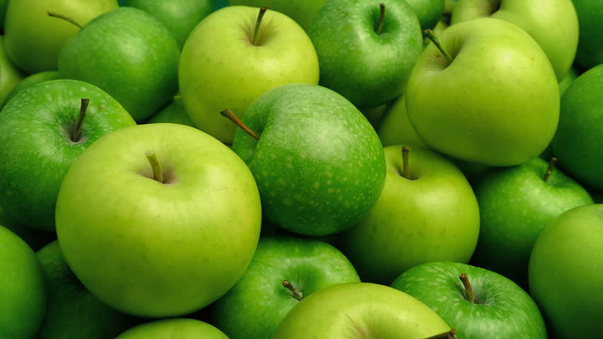 Green Apples Pile Closeup | Shutterstock HD Video #1006679341