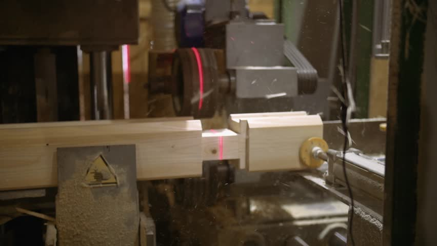 Woodwork Machine with Laser Pointer Stock Footage Video (100% Royalty-free)  1006913431 | Shutterstock