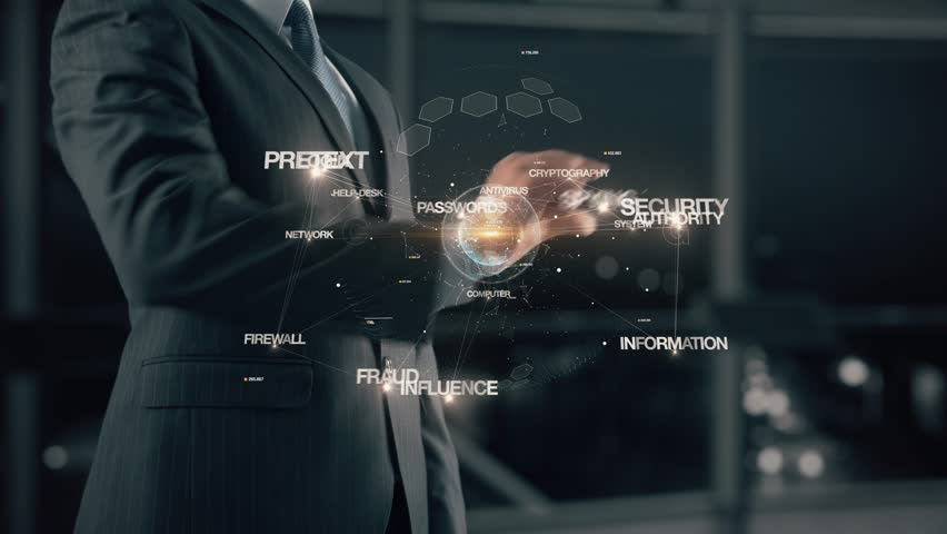 Businessman with Social Engineering   Shutterstock HD Video #1007092861