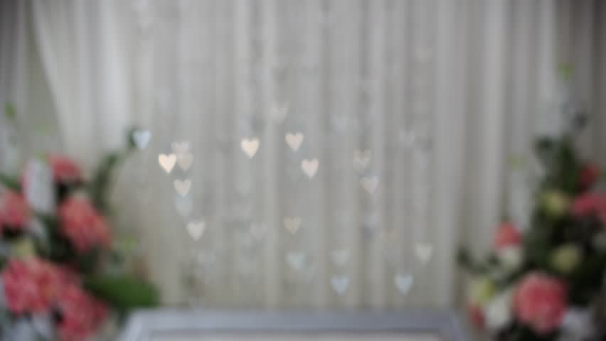 Light reflection on blur background makes bokeh love. In accordance with the theme of love and valentine day. | Shutterstock HD Video #1007107021