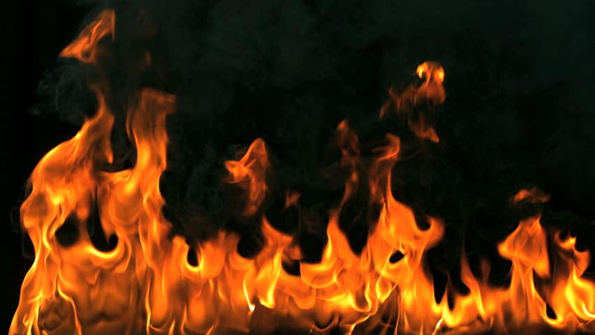 Sped up blazing flames | Shutterstock HD Video #1007340601