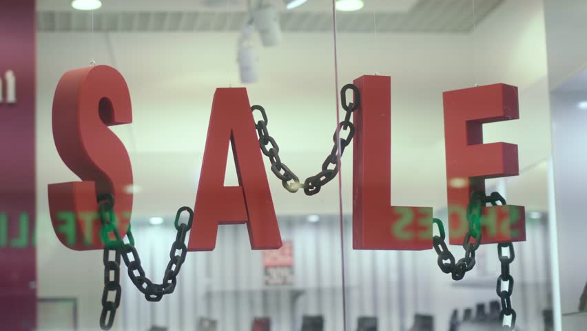 Video on the subject of sales discount. the red letters are moving | Shutterstock HD Video #1007547136