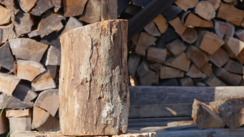 Closeup of a Log Being Stock Footage Video (100% Royalty-free) 1007593231    Shutterstock