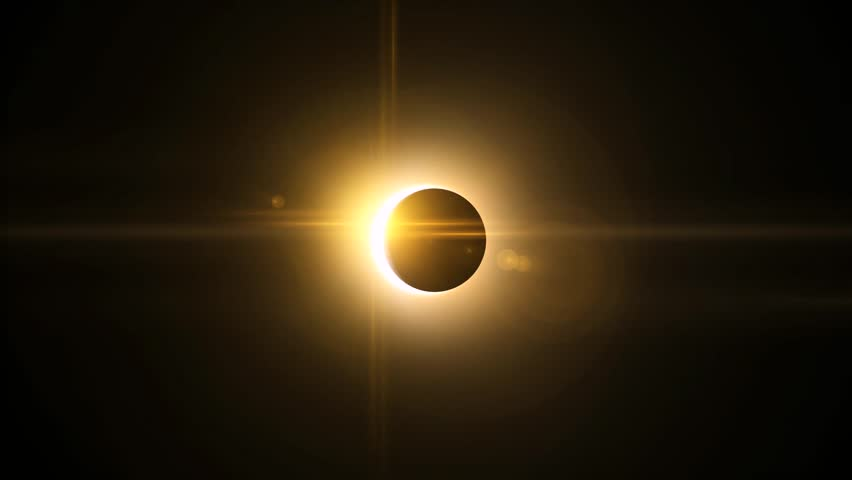 Eclipse Solar Total  | Shutterstock HD Video #1008073051