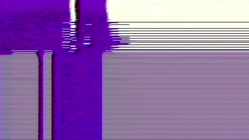 Analog Abstract Video Shapes Signal Noise FeedBack Manipulation | Shutterstock HD Video #1008155221