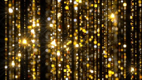 Gold Curtain Chains
