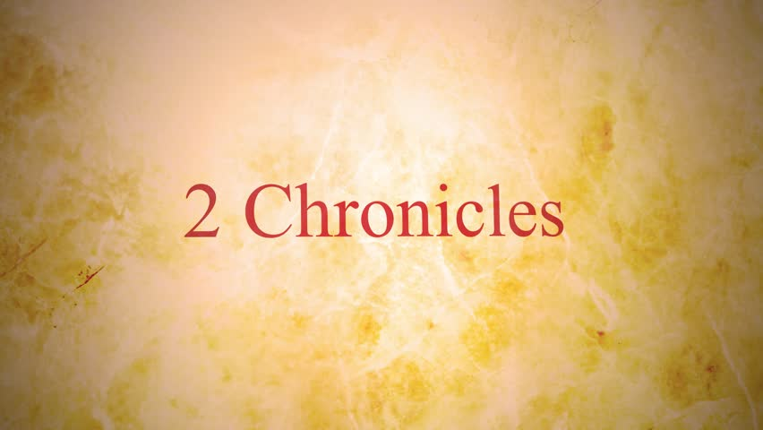 Header of 2 Chronicles