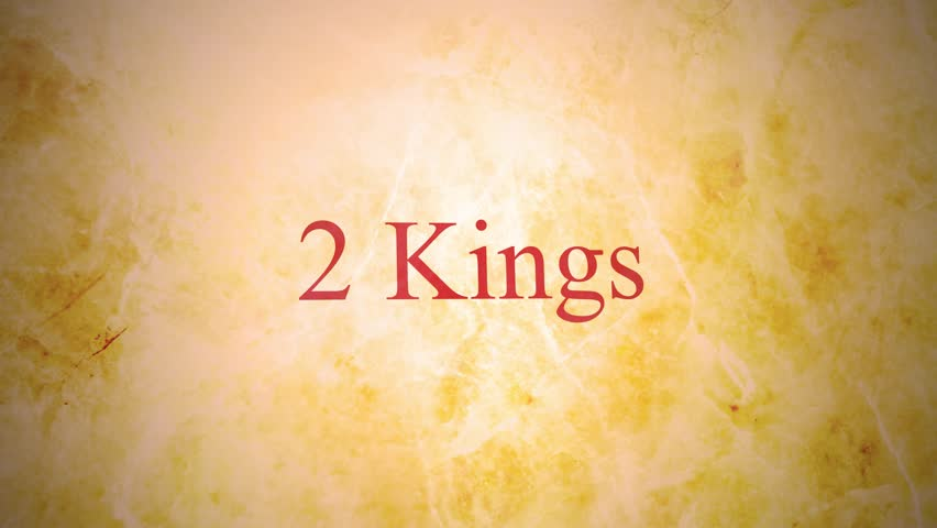 Header of 2 Kings