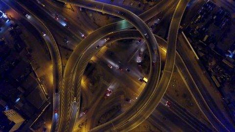 Koumassi interchange from above