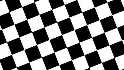 Rhythmic rotating checkers board 16bars 120BPM 24FPS clip for music video