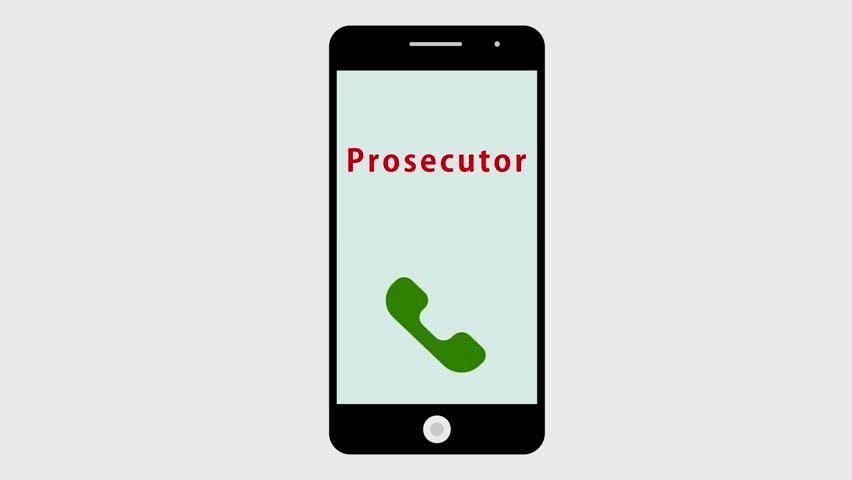 Header of prosecutor