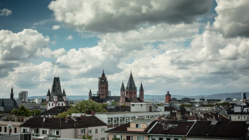 Beautiful timelapse about Mainz and Dom