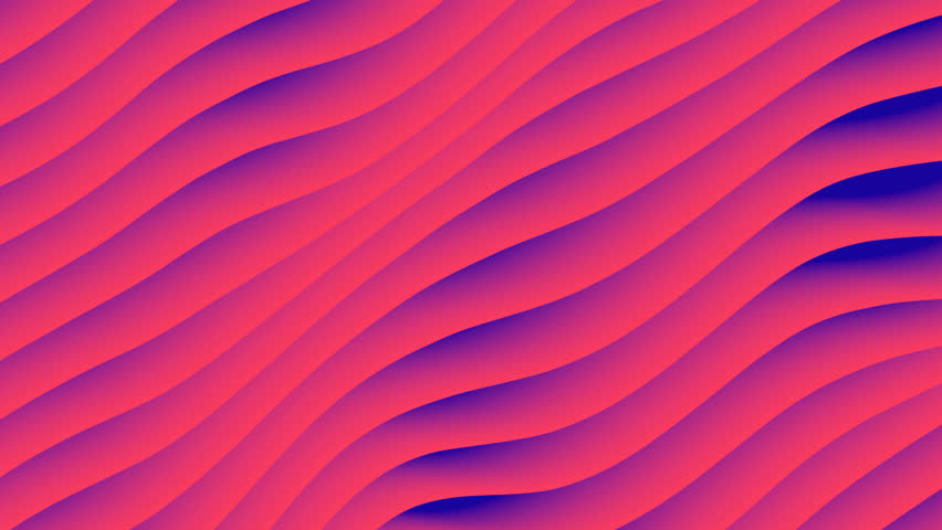 Colorful wave gradient animation.. Future geometric patterns motion background. 3d rendering | Shutterstock HD Video #1009050011