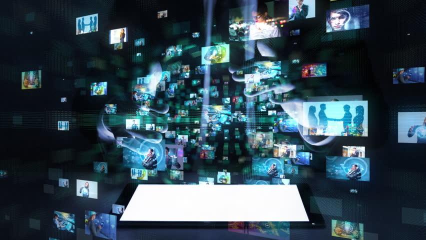 Social media concept.   Shutterstock HD Video #1009443941