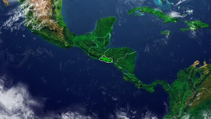 EL SALVADOR DIGITAL MAP
