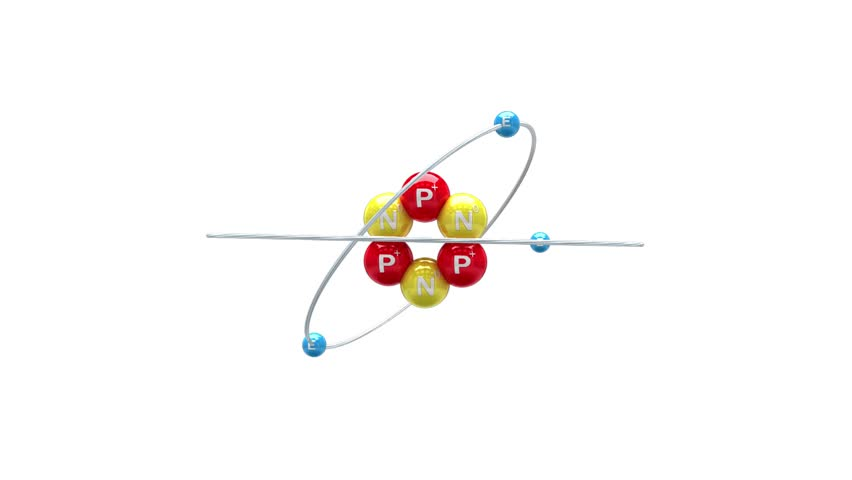 Animation of Isotope of Lithium atom. Looping animation.(images are available!)   Shutterstock HD Video #1009468361