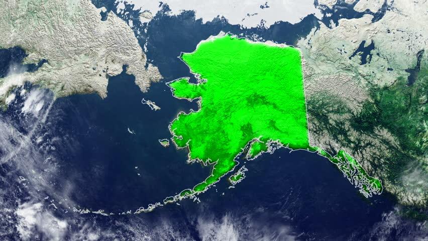 ALASKA DIGITAL MAP