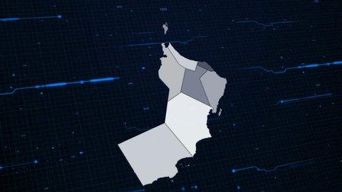 Oman Network Map