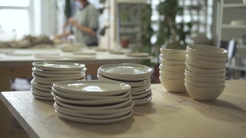 Kitchenware Stock Video Footage 4k