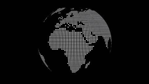 2D Earth Globe
