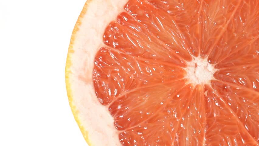 Close up of rotating Grapefruit. No sound. #1009778711