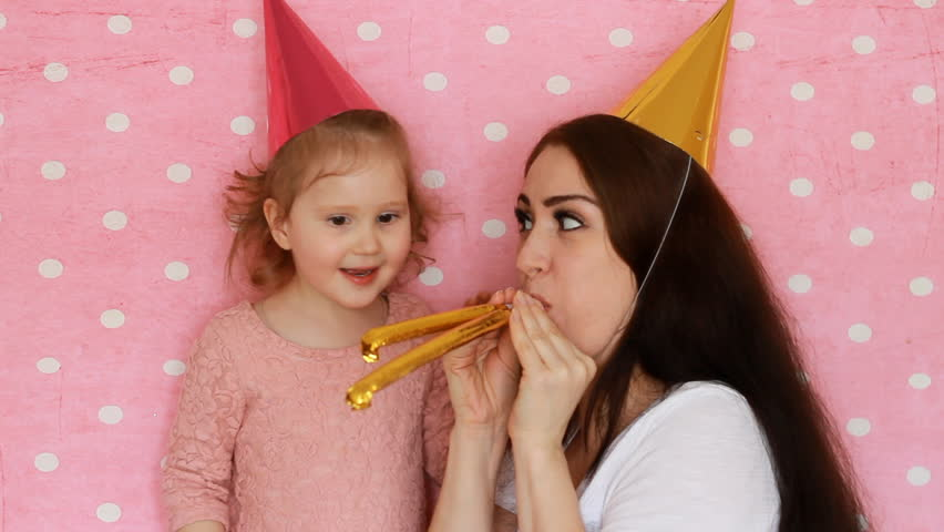 Happy Birthday Mother And Daughter Stock Footage Video 100 Royalty Free 1009804541 Shutterstock