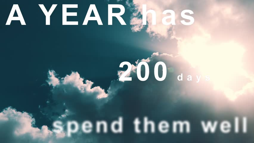 Header of 365 Days