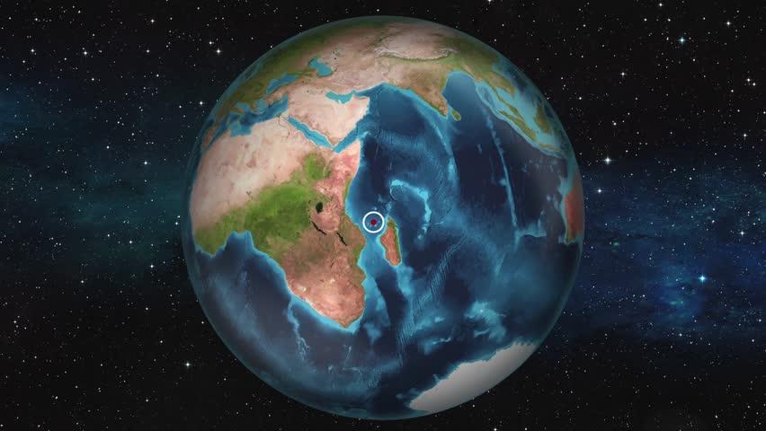 Earth Zoom In Map - Moroni