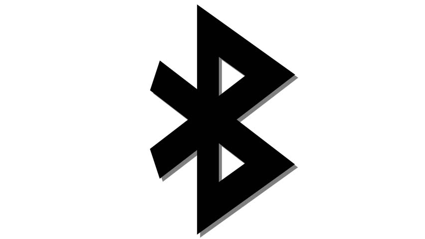Bluetooth Icon Footage Stock Clips