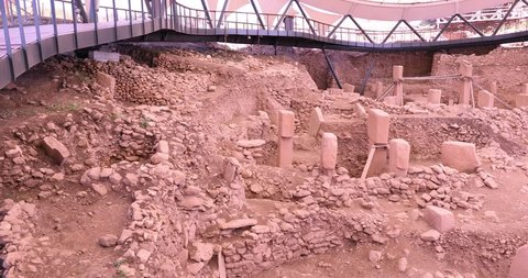 Gobeklitepe temple, The oldest temple ruins of the world (Göbeklitepe was built exactly 12,000 years ago today) - Urfa, Turkey