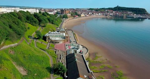 Scarborough Spa And Castle; Scarborough North Yorkshire