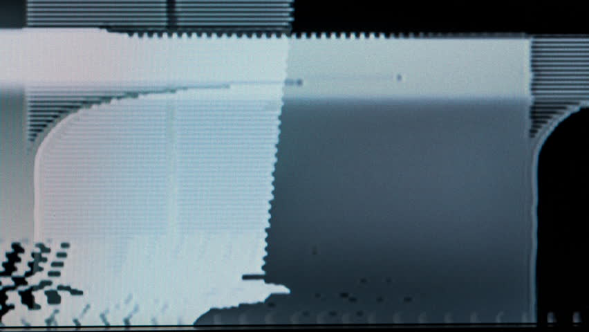 television and video glitches with static and distortion. useful as overlays on all types of videos