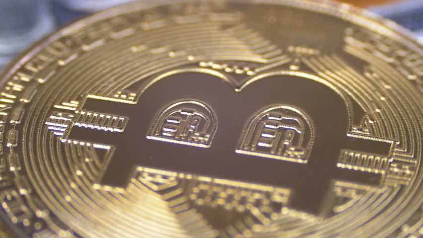 Gold Bitcoin Coin Cryptocurrency, Btc Stock Footage Video (100%  Royalty-free) 1010418761 | Shutterstock