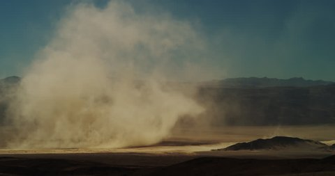 Dust Storm on Dry Lake  #2