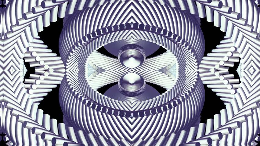 Shiny ornamental silver metal chain kaleidoscope seamless loop pattern animation    Shutterstock HD Video #1010716361