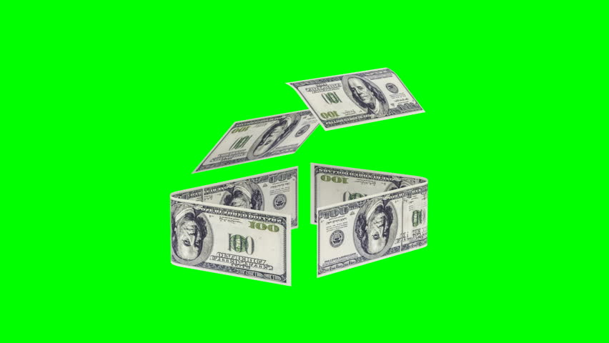 The house is made up of cash bills, the concept of investing in construction, money costs for construction, chromakey, alpha channel | Shutterstock HD Video #1010814851