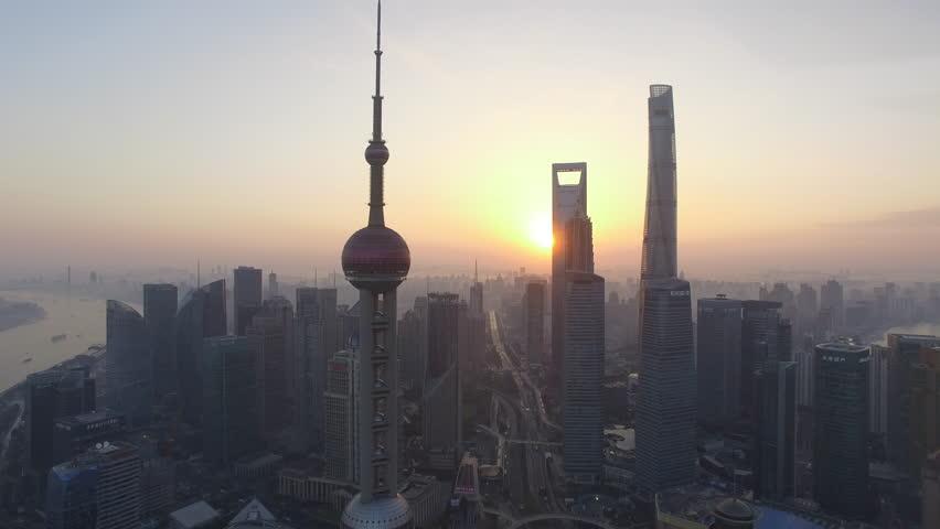 Shanghai Skyline Time-Lapse