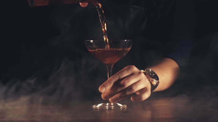 Barman make a cocktail | Shutterstock HD Video #1011032801