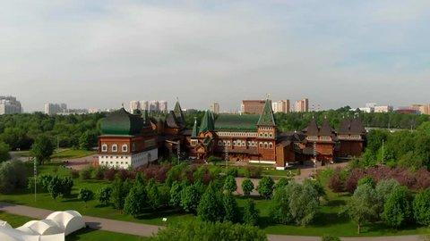 Palace of the Tsar Alexey Mikhailovich, XVII century, Moscow, Kolomenskoye