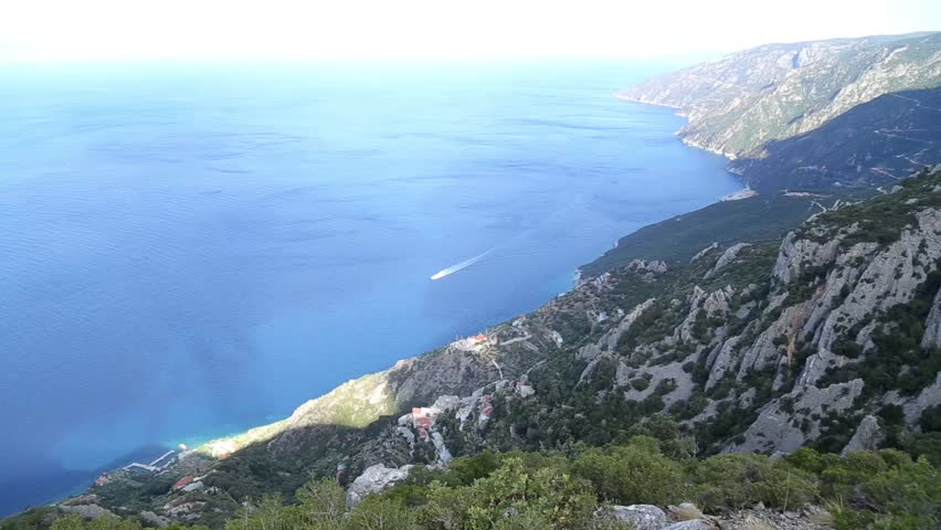 View from Mount Athos