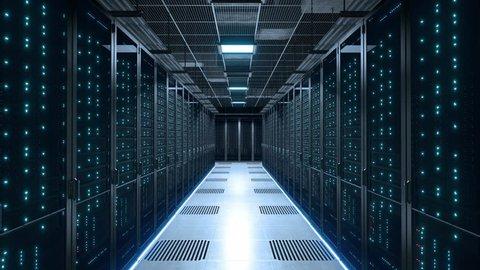 Data center server room power off blackout