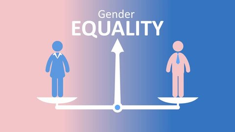 Sex Based Discrimination and Gender Equality Concept