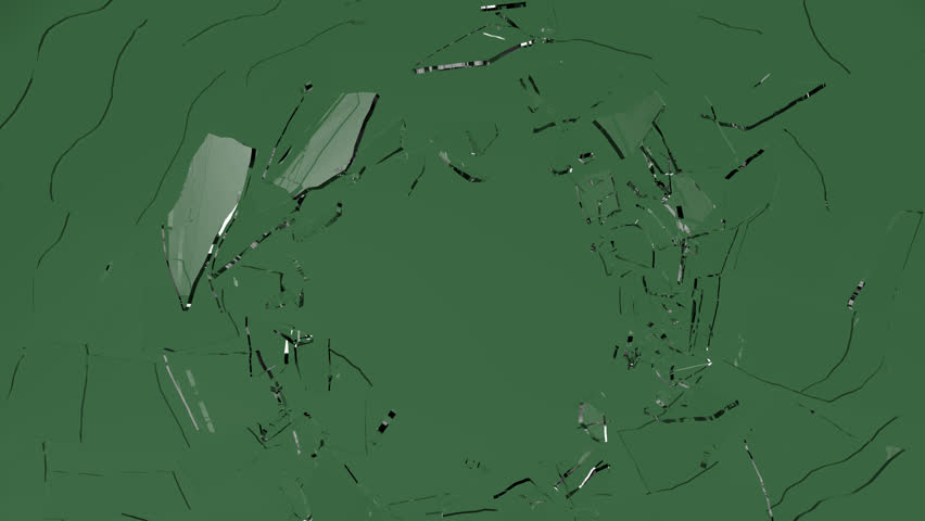 Glass Shatter , Broken glass: With Slow Motion. Alpha Channel and Green Screen is included ...
