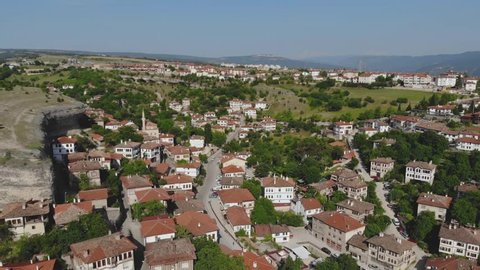 360 Degree World Heritage City Safranbolu / Turkey Aerial View